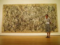 When you look at a Pollock painting, do you see a mess that your toddler could have created? Or do you see a priceless work of art?